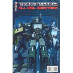 Comics - Transformers All Hail Megatron (2008) 5A -
