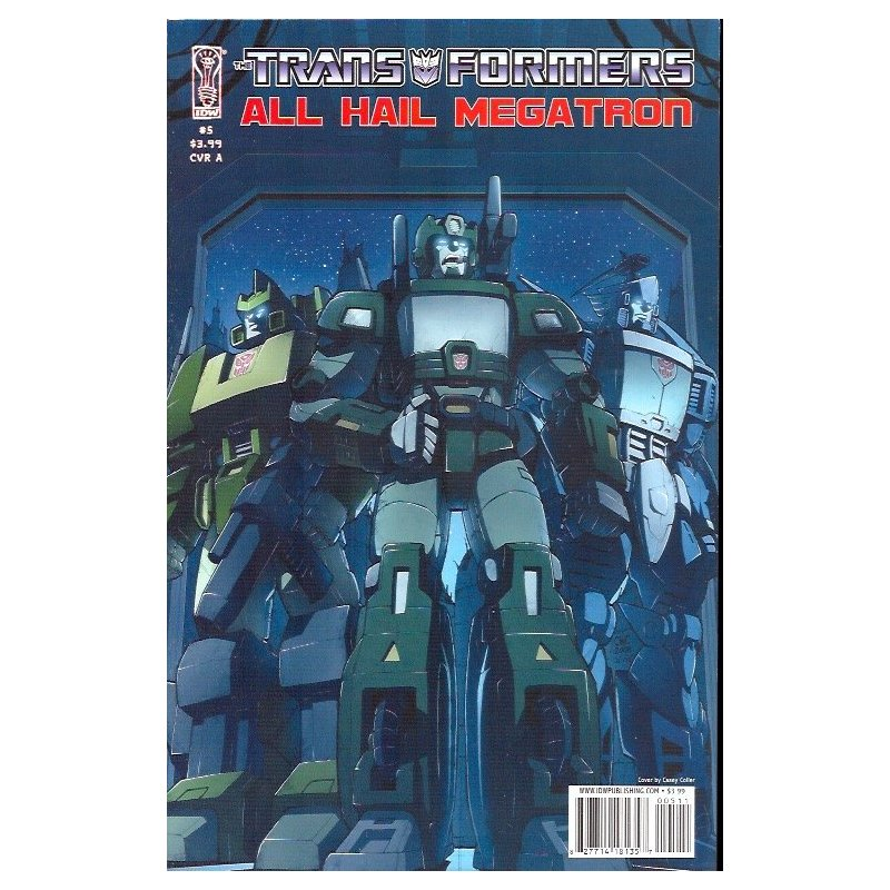 Cómics - Transformers All Hail Megatron (2008) 5A -