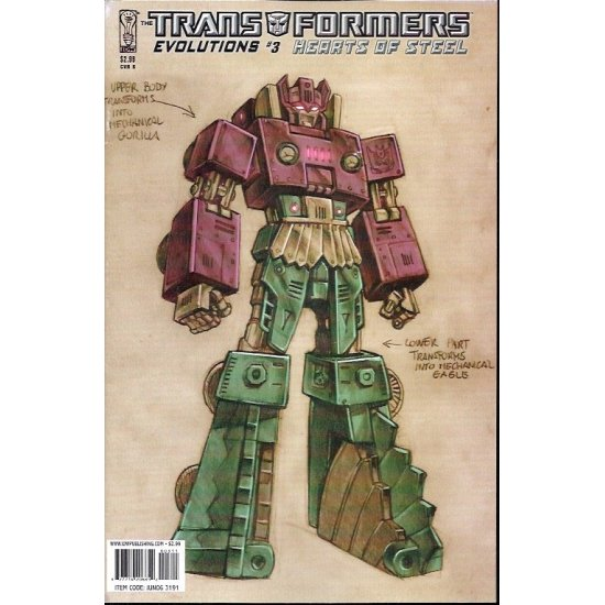 Transformers Evolutions Hearts of Steel (2006) 3B