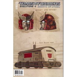 Comics - Transformers Evolutions Hearts of Steel (2006) 4B -
