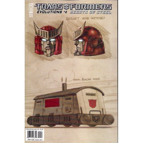 Transformers Evolutions Hearts of Steel (2006) 4B