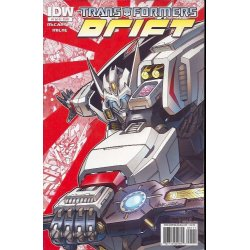 Comics - Transformers Drift (2010 IDW) 1A -