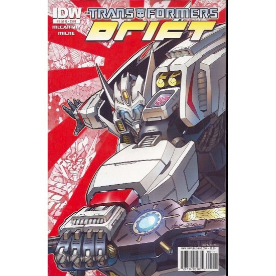Transformers Drift (2010 IDW) 1A