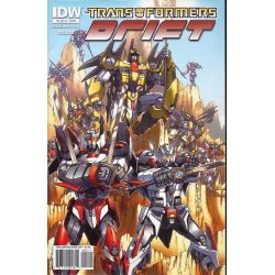 Comics - Transformers Drift (2010 IDW) 2A -