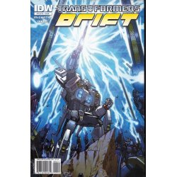Comics - Transformers Drift (2010 IDW) 4A -
