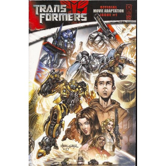Transformers Movie Adaptation (2007 IDW) 1A