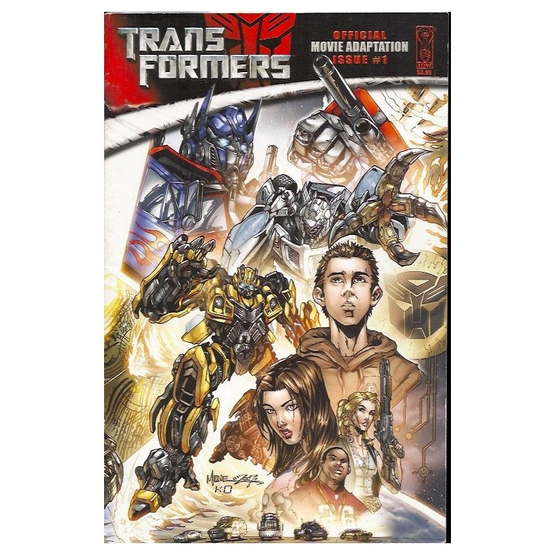 Comics - Transformers Movie Adaptation (2007 IDW) 1A -