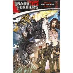 Transformers Movie Adaptation (2007 IDW) 2A
