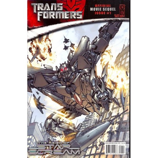 Transformers Movie Sequel Reign of Starscream (2008) 1A