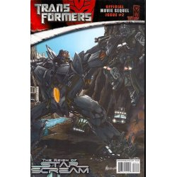 Comics - Transformers Movie Sequel Reign of Starscream (2008) 2A -