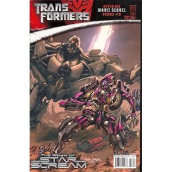 Comics - Transformers Movie Sequel Reign of Starscream (2008) 3A -