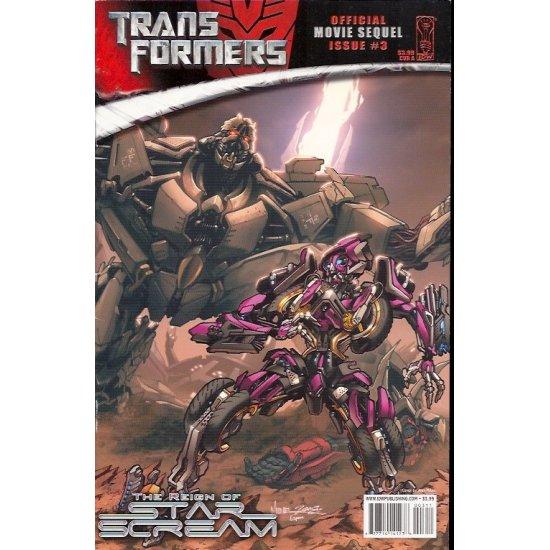 Transformers Movie Sequel Reign of Starscream (2008) 3A