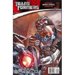Comics - Transformers Movie Sequel Reign of Starscream (2008) 4A -