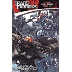 Comics - Transformers Movie Sequel Reign of Starscream (2008) 5A -