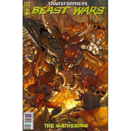 Transformers Beast Wars The Gathering (2006 IDW) 2C