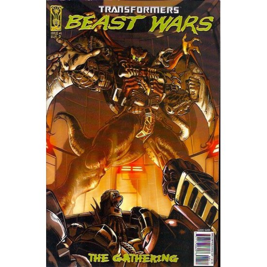 Transformers Beast Wars The Gathering (2006 IDW) 4D