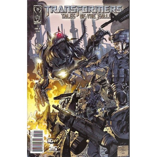 Transformers Tales of the Fallen (2009 IDW) 5B