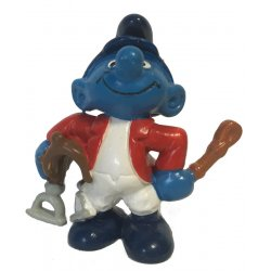 Mini-figures - Smurfs – Jockey Smurf -
