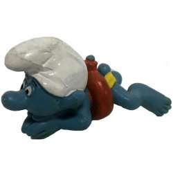Mini-figures - Smurfs – Swimmer Smurf -