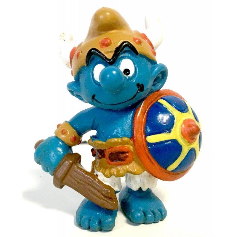 Mini-figures - Smurfs – Viking Smurf -