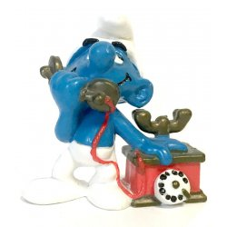 Mini-figures - Smurfs – Telephone Smurf -