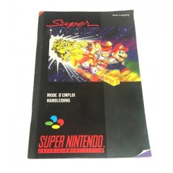 Super Nintendo - Super Gameboy Instructions Manual (Dutch French)