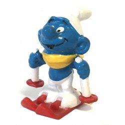 Mini Figures - Smurfs – Skier Smurf -