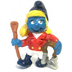 Mini-figures - Smurfs – Jockey Smurfette -