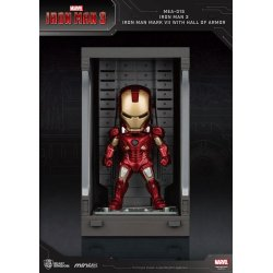 Iron Man 3 Mini Egg Attack Action Figure Hall of Armor Iron Man Mark VII 8 cm