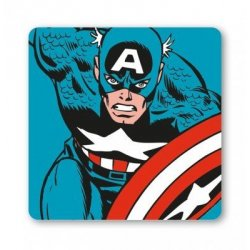 Marvel - Captain America - Run - Coaster