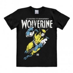 Marvel - Wolverine - Adamantium - T-Shirt Easy Fit - Black