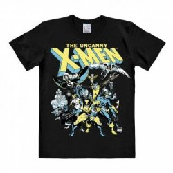Marvel - X-Men - The Group - T-Shirt Easy Fit - Black
