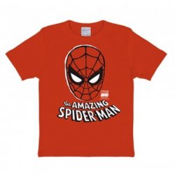 Marvel - The Amazing Spider - Man - Mask - T-Shirt Children - Red