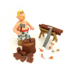 Asterix - Play Asterix - Arborix the woodcutter