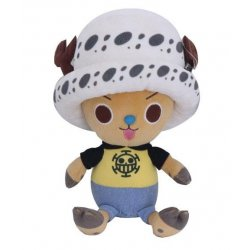 One Piece Plush Figure Chopper x Law 20 cm