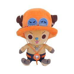 One Piece Plush Figure Chopper x Ace 20 cm