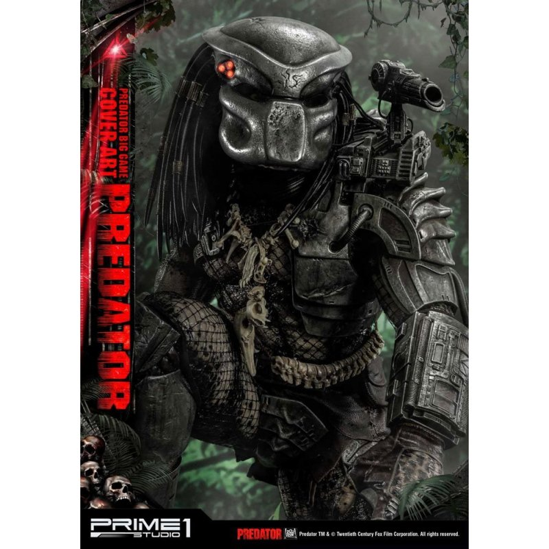 De Toyboys Predator Statue Big Game Cover Art Predator Deluxe