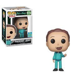 Rick and Morty POP! Animation Vinyl Figure Tracksuit Jerry SDCC Exclusive 9 cm