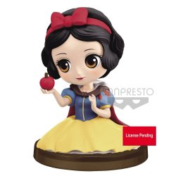 Disney Q Posket Petit Mini Figure Snow White 4 cm
