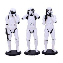 Original Stormtrooper Figures 3-Pack Three Wise Stormtroopers 14 cm