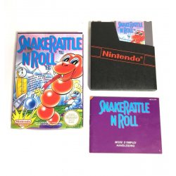 NES - Snake Rattle and Roll