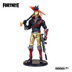 Fortnite Action Figure Red Strike Day & Date 18 cm