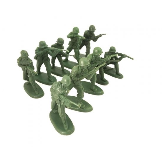 Green Army Men (mixed bag with 10 Figures)