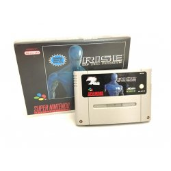 Super Nintendo - Rise Of The Robots (Rental Box)