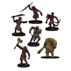D&D Icons of the Realms Miniatures 6-Pack Monster Pack: Cave Defenders