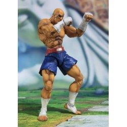 Street Fighter S.H. Figuarts Action Figure Sagat Tamashii Web Exclusive 17 cm