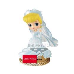 Disney Q Posket Mini Figure Cinderella Dreamy Style 14 cm