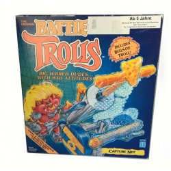 Actionfiguren - Battle Trolls – Spring Activated Crossbow with Capture Net -