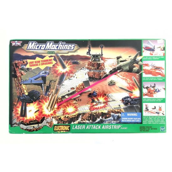 Micro Machines: Gi Joe – Laser Attack Airstrip (MISB)