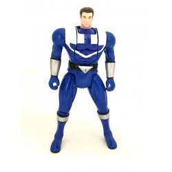 Power Rangers: Time Force - Automorphin Flip Head Blue Ranger